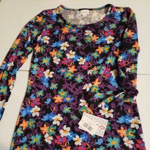 Bnwt lularoe floral Debbie